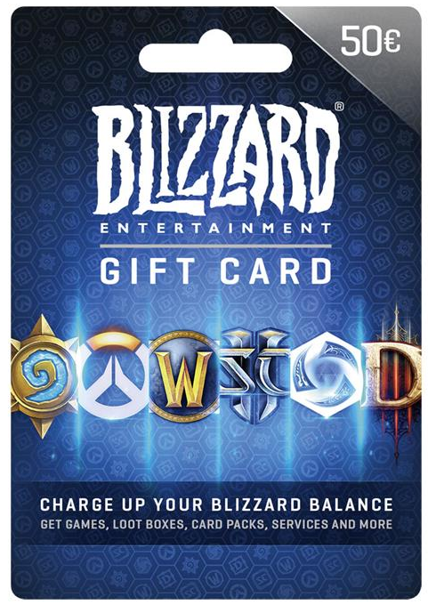 Blizzard Tegoed 50 euro (BE)