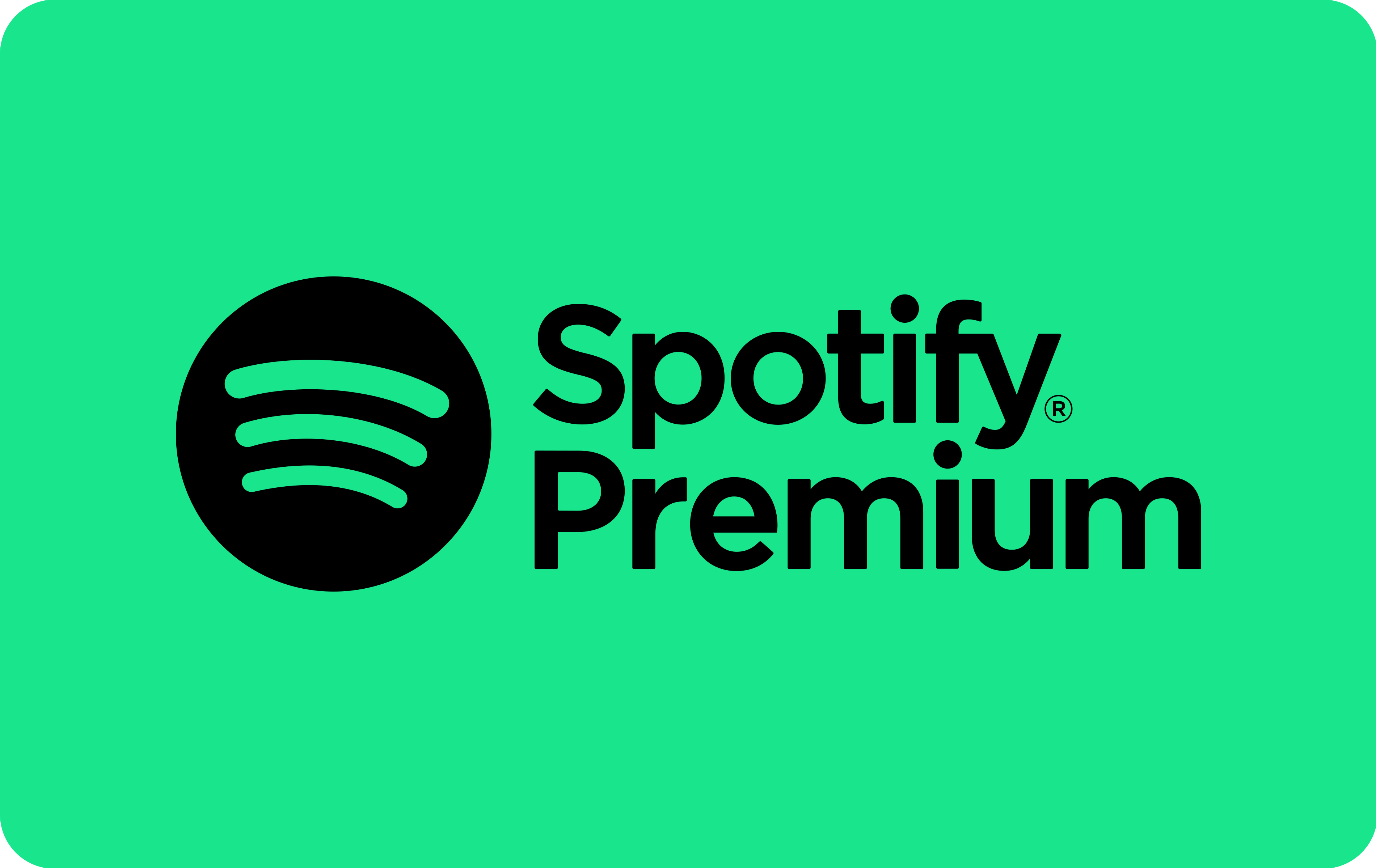 Spotify Premium Giftcard 30 euro (BE)